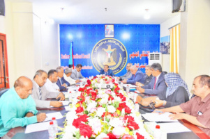 Presidency of the Southern Transitional Council holds its periodic meeting chaired by Major General Bin Brik