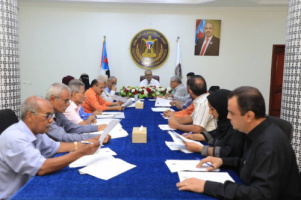 The General Secretariat praises recent decisions of the governor of Aden the capital and reviews economic scene