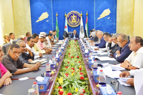 Presidency of the Southern Transitional Council holds its periodic meeting headed by Major General Bin Brik