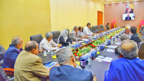 President Al-Zubaidi chairs the periodic meeting of the Presidency of Southern Transitional Council