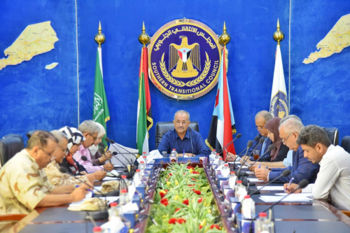 Presidency of Southern Transitional Council discusses the Brotherhood escalation on the fronts of Abyan Axis