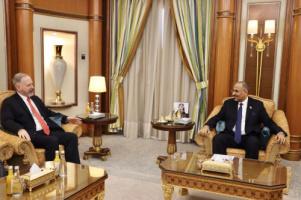 President Aidaroos Al-Zubaidi meets the Ambassador of the United States of America