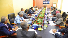 President Al-Zubaidi chairs the periodic meeting of Presidency of the Transitional Council