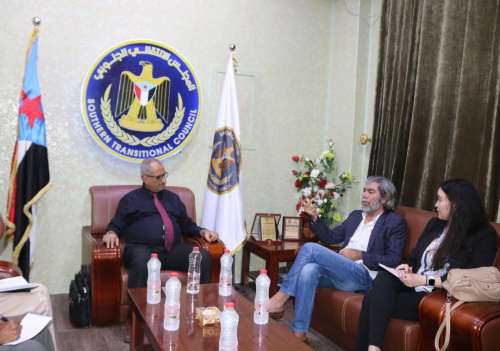Deputy Secretary-General meets Director of the Office of UN Envoy Martin Griffiths in the capital