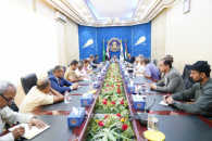 Al-Khobaji chairs meeting of Supreme Economic Committee of the Transitional Council