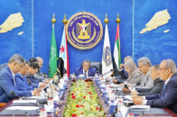 The Presidency of the Transitional Council discusses number of insistent issues in Southern arena