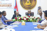 In presence of Al-Jaadi and Al-Kathiri ... Department of Information organizes its first consultative meeting for media centers
