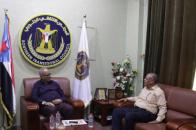 Al-Jaadi discusses with bin Al-Sheikh Abu Bakr future plans for Hadramaut Transitional Council leadership