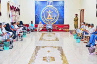 Dr. Al-Khobaji discusses with local leaderships of Abyan latest developments in the governorate