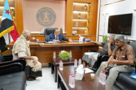 Al-Khobaji meets with leadership of Supreme Commission for Southern Army and Security