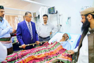 Al-Khobaji reassures on health conditions of wounded of terrorist incident targeted leadership of Support Brigades