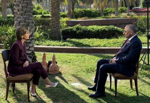 President Al-Zubaidi to CNN: We look forward to peer to peer dialogue between North and South under international sponsorship
