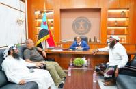 Dr. Al-Khobaji reviews the situation in Mayon Island