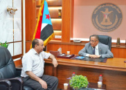 Dr. Al-Khobaji discusses with Chairman of Federation of Private Medical Facilities efforts to confront second wave of Corona