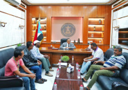 Al-Khobaji stresses the importance of civil society organizations in facing challenges in Aden the capital