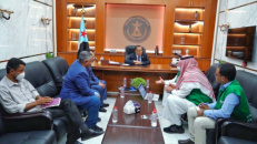 Al-Khobaji checks on projects implemented by Saudi Program for Development and Reconstruction