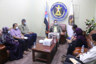 Chairman of Relief and Humanitarian Work Committee meets Director of National Drug Supply Program