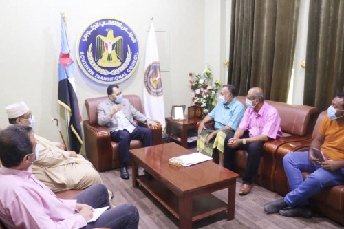 Al-Kaf meets with the Director General of the Dutch international humanitarian organization