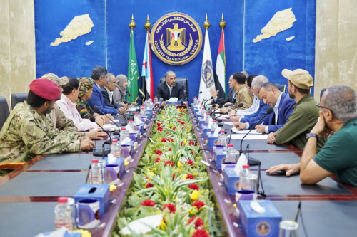 President Al-Zubaidi chairs periodic meeting of the Presidency of Southern Transitional Council