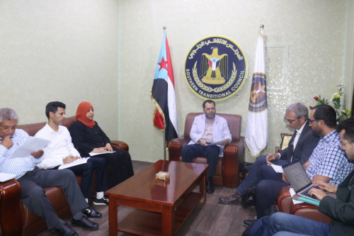 """Al-Kaf meets with the President of the French """"Promédation"""" organization"""