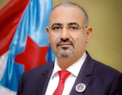 President Al-Zubaidi offers condolences to President Hadi on the death of his brother's son