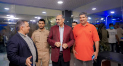 President Al-Zubaidi visits the Radio and Television Unit of the Transitional Council in Aden the capital
