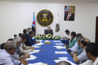 The General Secretariat discusses the continuous displacement to Aden the capital and Southern governorates
