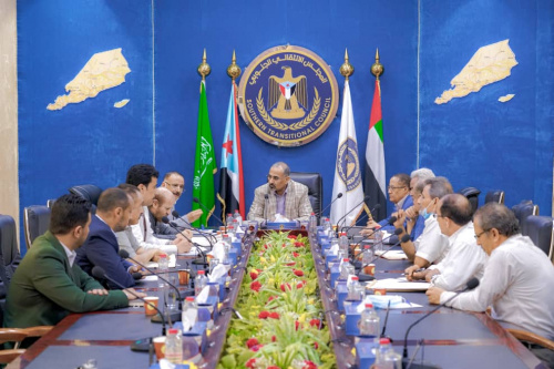 President Al-Zubaidi chairs important meeting to discuss the deteriorating economic situation in the south