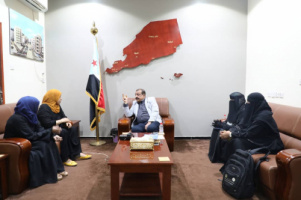 Chairman of National Assembly meets Executive Director of Fund for Care and Rehabilitation of Disabled in Aden the capital
