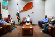 Major General Bin Brik meets head of Supreme Council Executive Office of Southern Revolutionary Movement