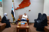 Major General Bin Brik praises the role of women in Abyan governorate