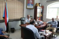 Deputy Secretary-General discusses with Executive of Transitional Council Coordinating in Aden University issues of University and its colleges