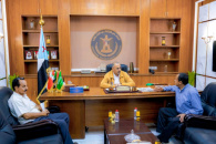 President Al-Zubaidi meets with Vice-President of the Southern Community in California, USA