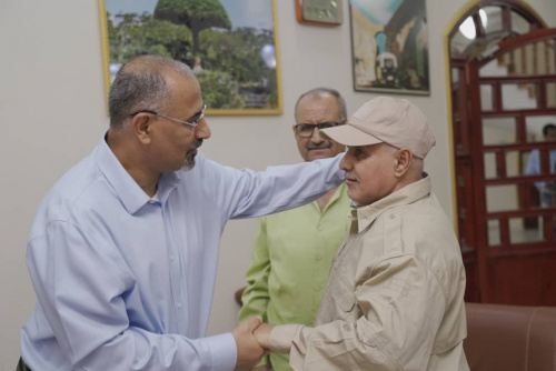 President Al-Zubaidi receives greetings on the occasion of the blessed Eid Al-Adha