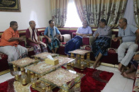 Al-Kathiri meets with Head of Transitional Council Executive of Hadramout and Council leaders in the governorate