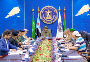 President Al-Zubaidi chairs the periodic meeting of the military and security commanders