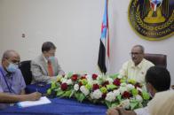 Al-Jaadi meets with representative of United Nations HighCommissioner forHuman Rights