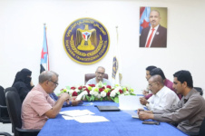 Al-Jaadi chairs joint meeting to discuss supporting work plan of Southern External Dialogue Team