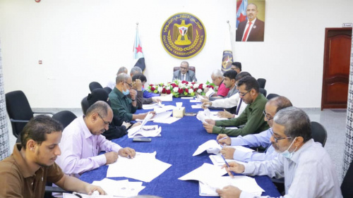General Secretariat holds its periodic meeting and reviews report of economic scene and performance of Cultural Department