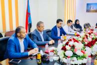 Al-Ghaithi receives Regional Director of German Friedrich-Ebert-Stiftung Foundation