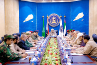 President Al-Zubaidi chairs the periodic meeting of military and security commanders