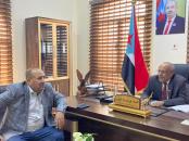 Al-Kathiri meets with National Assembly member Sheikh Abdul Khaliq bin Hattabain