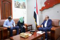 Major General Bin Brik meets with Head of Dutch mission of Medecins Sans Frontieres