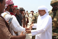 Sultan Al-Afrar meets Transitional Council Executive leadership and social figures in Al-Mahara governorate