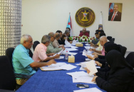 The General Secretariat reviews report of political scene and performance of legal department