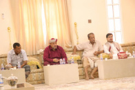 Al-Afrar meets leadership of Transitional Council executive of Al-Mahra and social figures in the governorate