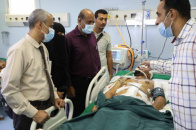 Under directives of Major General Bin Brik..Team from National Assembly checks on wounded in Crater events