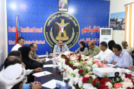 Major General Bin Brik chairs the regular meeting of the National Assembly's administrative body