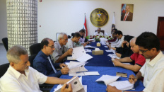 The General Secretariat reviews report of the Departments of Administrative and Financial and Media during first half of 2021
