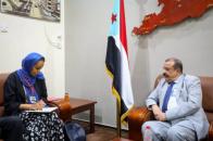 Major General Bin Brik meets country director of Geneva Call office